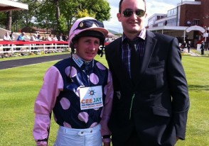 me-and-champ-at-redcar